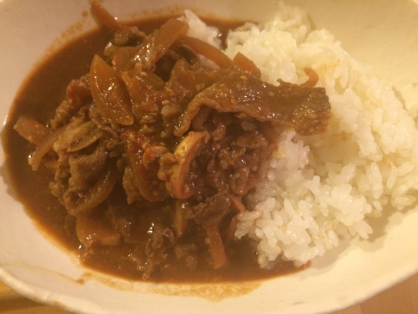 【レシピ】豆味噌のハッシュドビーフ