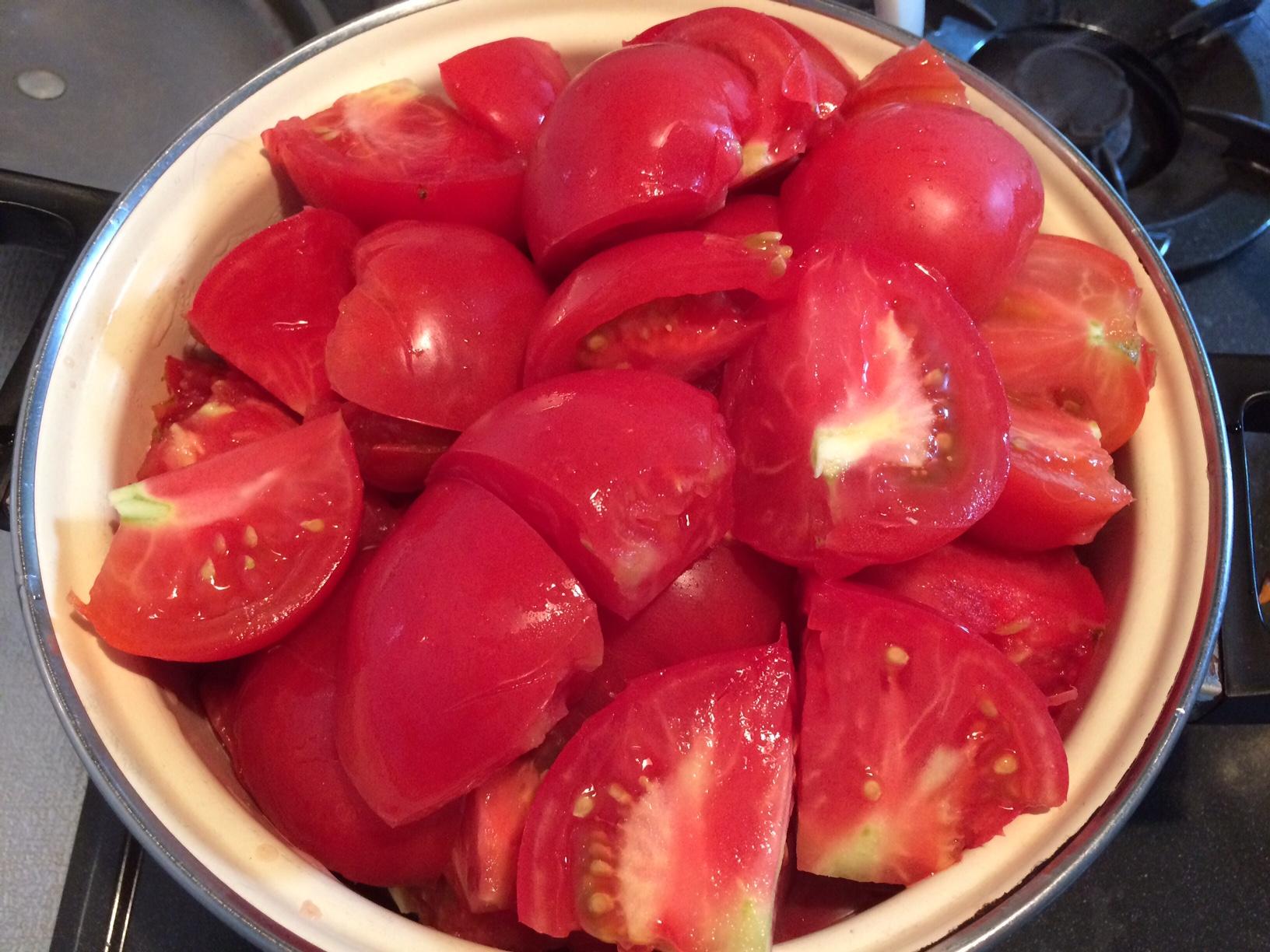 夏野菜の楽しみ方~完熟トマトのトマトジュースとずんだあん~